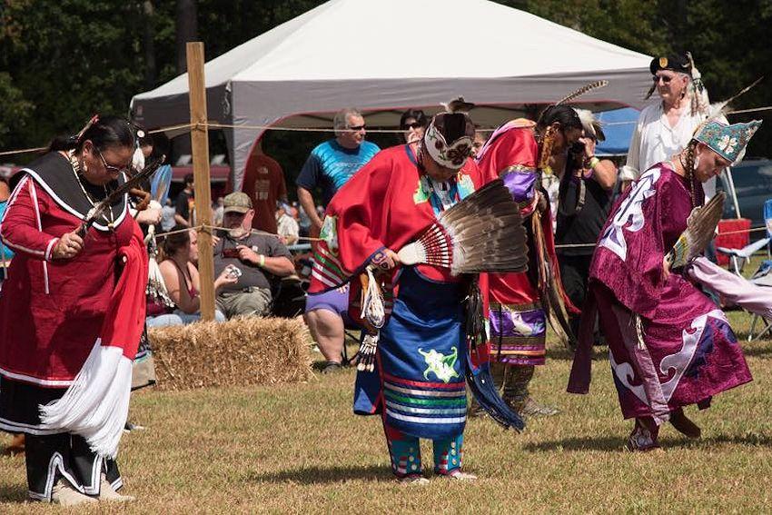 Nottoway indian trive of virginia anual powwow
