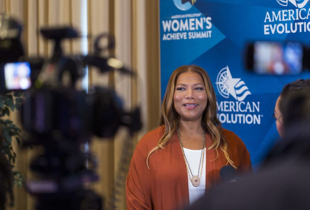 Queen Latifah at Women's Summit