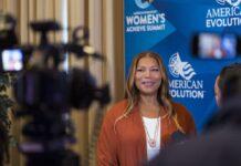 Queen Latifah at Women's Summit