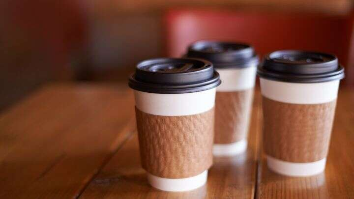 Banishing disposable coffee cups
