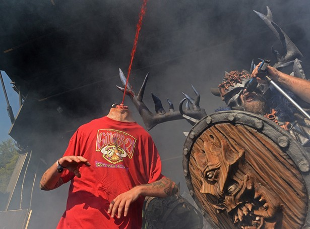 GWAR Performing Drive-In Concert at the Diamond, Oct. 10